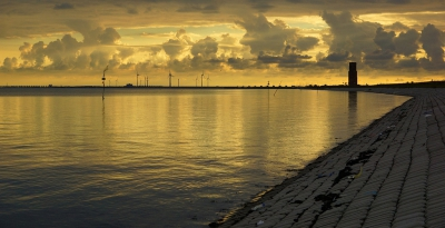/ Avond langs de Oosterschelde / Evening at the Oosterschelde