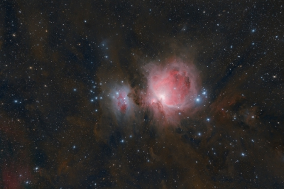 Messier 42, M42, NGC 1976 / Orionnevel / Orion Nebula