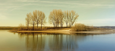 Nature picture: 2.  / Weerspiegeling